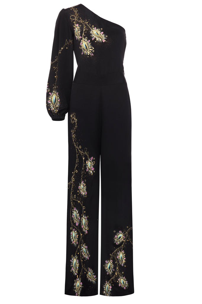 Ivy Peacock Jumpsuit