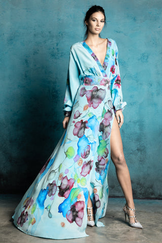 Breve Butterfly Wing Hand-Painted Dress