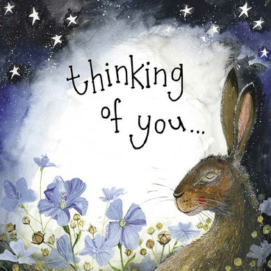 Alex Clark Thinking Of You Hare Card