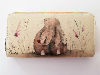 Love Country Always Hare Purse - Vegan Friendly