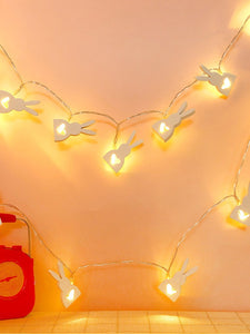 Bunny Rabbit Heart Lights