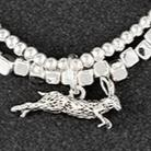 Silver Plated Hare Bracelet in Gift Box - Last 1