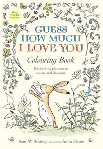 Guess How Much I Love You Rabbit Colouring Book