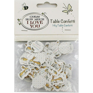 Guess How Much I Love You Table Confetti/Crafting