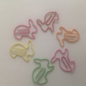 Bunny Shaped Paper Clips