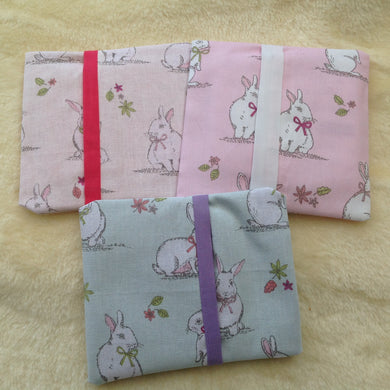 Ladies Handmade Rabbit Sanitary Towel Holder-Assorted Colours