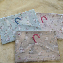 Handmade Rabbit Peg Bags-Assorted Colours