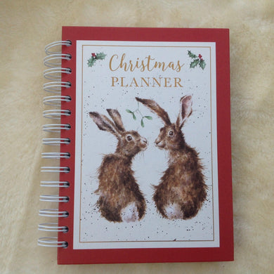 Wrendale designs hare Christmas planner notebook