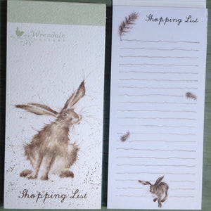 Wrendale Hare Raising Shopping List