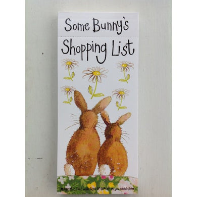 Some Bunny's Shopping List