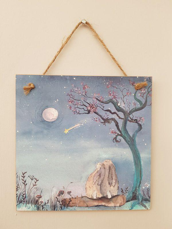 Stars & Dreams Forever wooden Card/Plaque