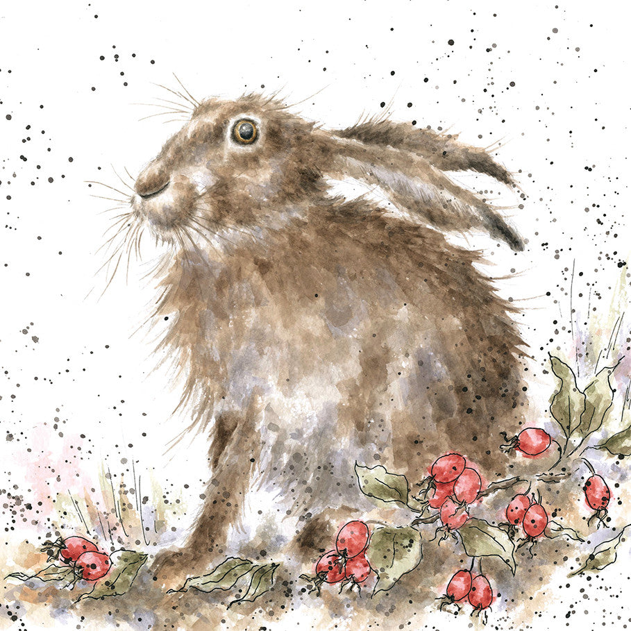 Wrendale Designs Hippy Hare Card