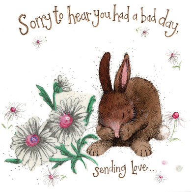 Alex Clark Sorry To Hear You Had A Bad Day Bunny alex clarkCard