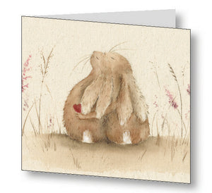 Always Hare Greetings Card