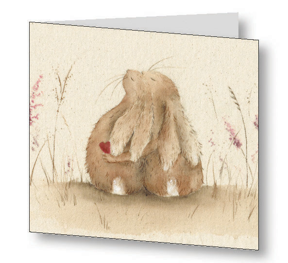 Always Hare Greetings Card With Beautiful Poem