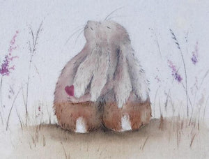Always Hare Mini rabbit Canvas