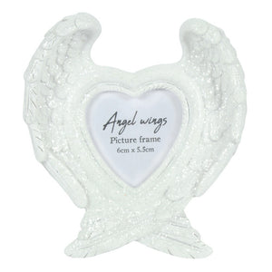 Angel Wings Memorial Photo Frame