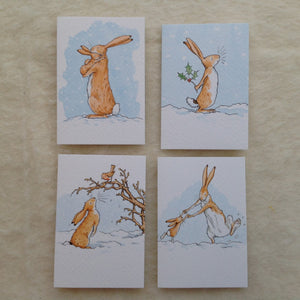 Anita Jeram Mini Christmas Cards- Pack of 4