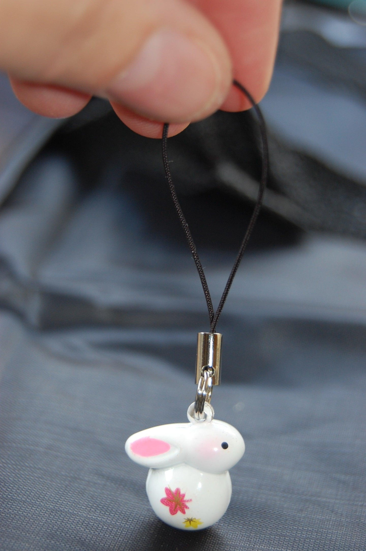 Bunny Bell Charm