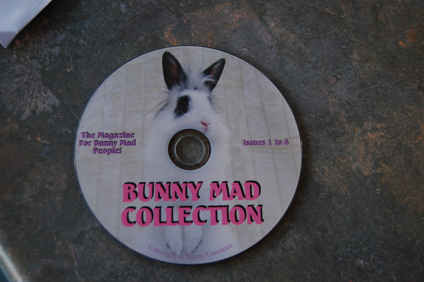 Bunny Mad Magazine: Issues 1-10 (CD)