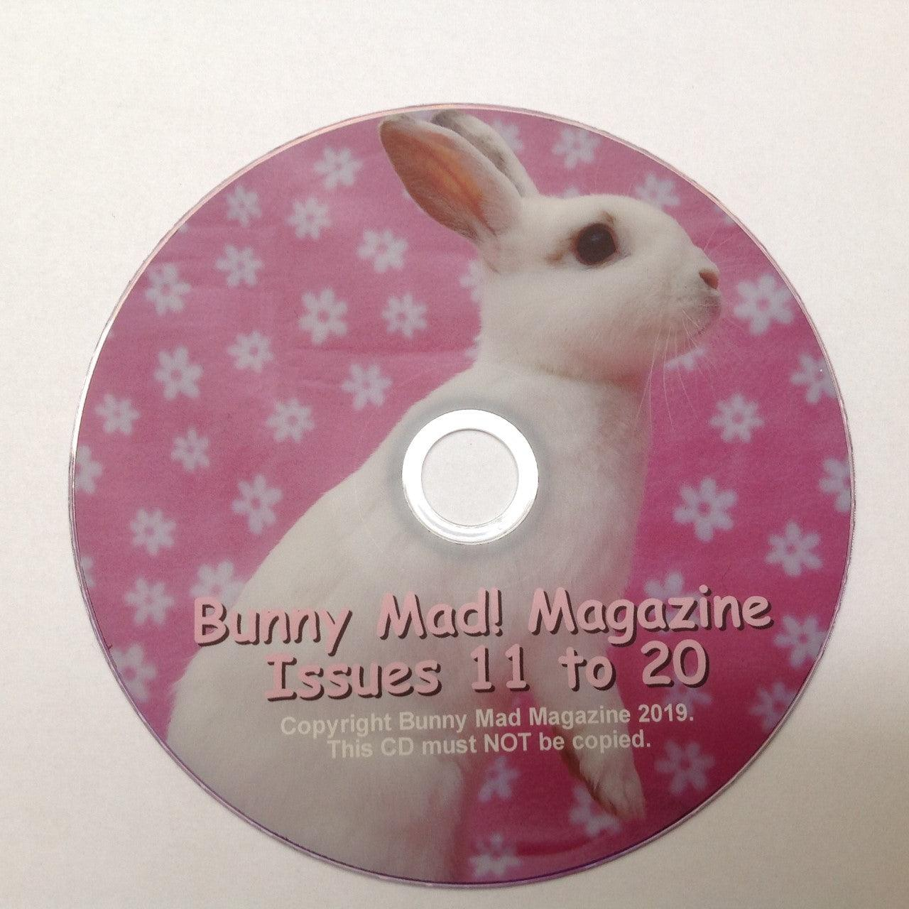 Bunny Mad Magazine: Issues 11-20 (DVD) To View On Your Computer