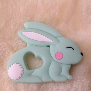 Green Bunny Fridge Magnet