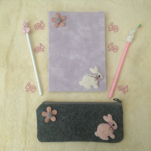 Bunny Rabbit Stationery Set