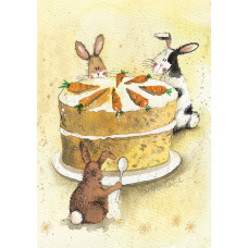 Alex Clark Carrot Cake Notebook