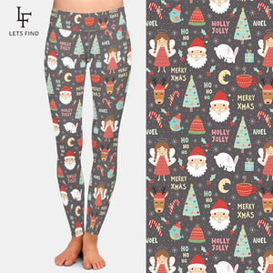 Ladies Christmas High Waist Leggings