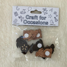 Craft Wooden Bunny Rabbit Embellishments