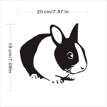Dutch Bunny Vinyl Decals for Car and Windows