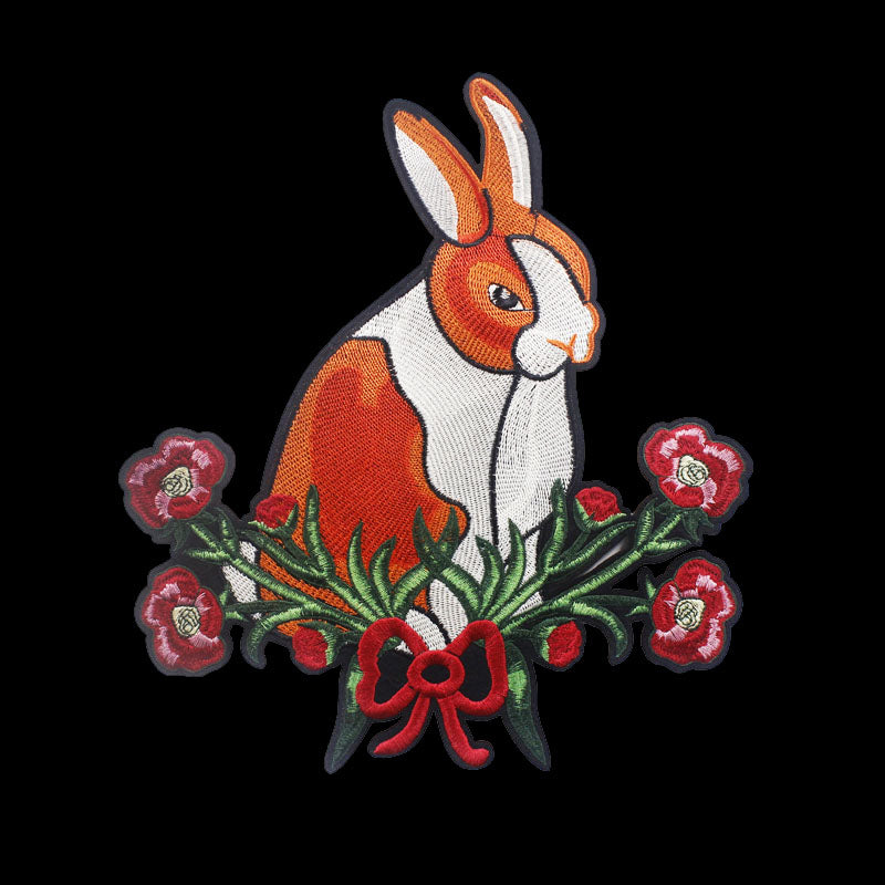 Iron On Large Dutch Bunny Patch