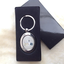 Field & Fur Silver Rabbit Keyring in Gift Box - 2 designs