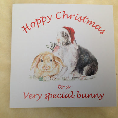 Exclusive To A Very Special Bunny Christmas Card