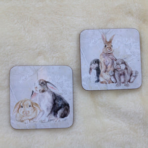 Field & Fur Bunny Rabbit  Coasters