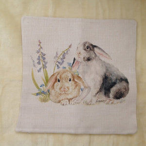 Field & Fur Bunny Rabbit Cushion Cover