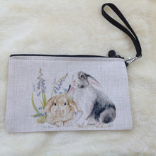 Field & Fur Bunny Rabbit Canvas Wrist Bag - 2 Designs