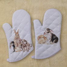 Bunny Rabbit Oven Mitt- 2 Designs