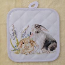 Bunny Rabbit Pot Stand/Oven Mitt - 2 Designs
