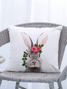 Bunny Rabbit Cushion Cover - 3 designs to choose from