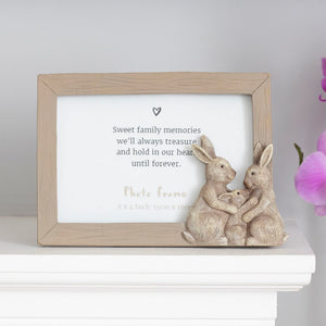 Fluffle Rabbit Family Photo Frame