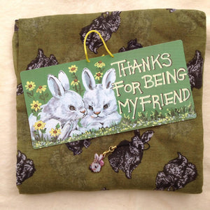 Bunny Friend Christmas Scarf Gift Set