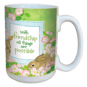 Friend Bunny Rabbit Mug