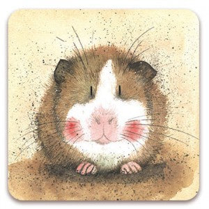 Alex Clark Gilbert Guinea Pig Fridge Magnet