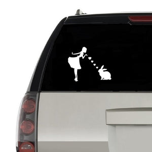 Bunny Mom Vinyl Decals for Car and Windows