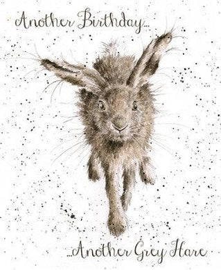 Wrendale Designs Another Grey Hare Card