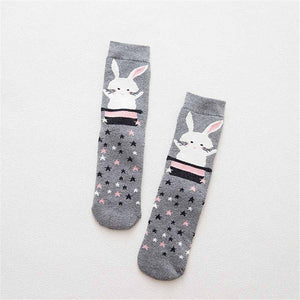 Bunny Rabbit  In Hat Thick & Warm Socks