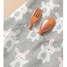 Grey Bunny Rabbit Ladies Apron