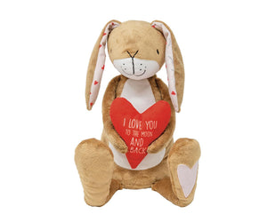 Guess How Much I Love You Large Hare & Heart Soft Toy - Last One!