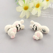 Fun Hanging Bunny Earrings